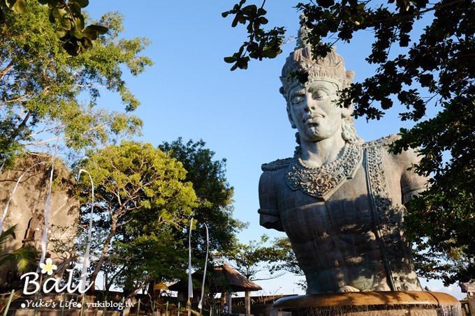 【峇里島】伍拉·賴國際機場(出入境、落地簽)、GWK神鷹廣場&下午茶、KECAK火舞 - yukiblog.tw
