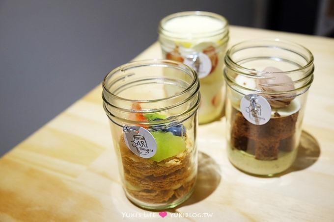 台北下午茶【瓶子甜點Jar Pâtisserie】少女心創意甜點×玻璃瓶裡的夢幻世界@松江南京站美食推薦