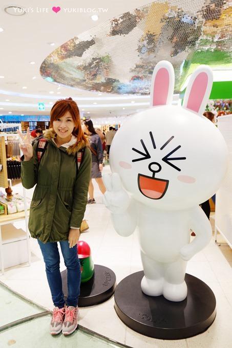 首爾自由行景點【LINE專賣店】東大門doota店舖LINE POP-UP STORE快閃店 - yukiblog.tw
