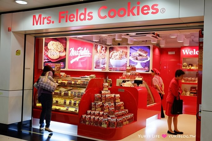 香港巧克力專賣店【Mrs. Fields Cookies】伴手禮拿來哄小孩!噗! @荃灣站