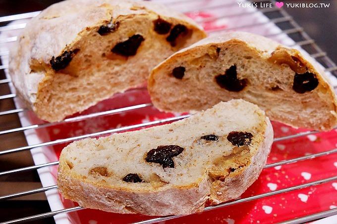 新手烘焙【五分鐘免揉麵包】NO4-歐式麵包、甜甜圈~不用鑄鐵鍋及任何鍋具就能輕鬆完成 - yukiblog.tw