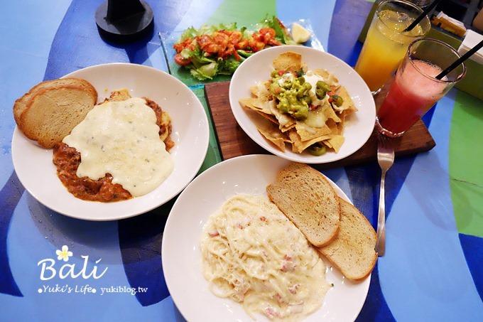 峇里島浪漫餐廳【OLD MAN's 老男人衝浪餐廳】很有個性的美式餐廳.義大利麵超好吃! - yukiblog.tw