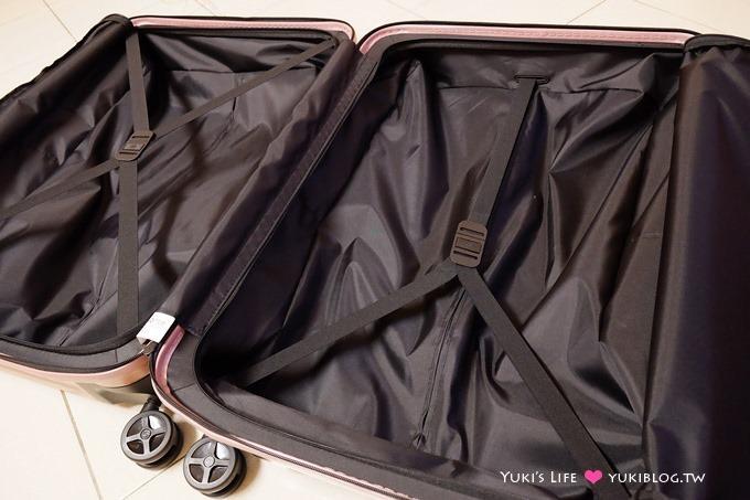 開箱【Samsonite新秀麗INOVA超輕量行李箱】好輕好拉適合出國旅行❤玫瑰金限量奪目 - yukiblog.tw