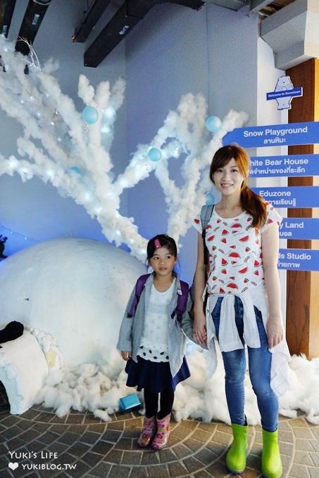 曼谷親子熱門景點【Snow Town】雪世界主題樂園×兒童遊戲室(伊卡邁站Ekkamai) - yukiblog.tw