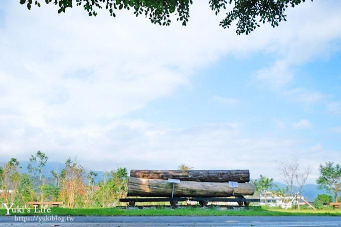 宜蘭景點《天送埤車站》復刻版林鐵小火車啟動!免費親子景點好拍又好玩!(清水地熱順遊景點) - yukiblog.tw