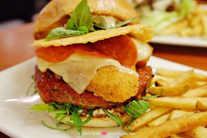 【TGI FRIDAYS】五款新口味重量級濃郁漢堡、天天優惠漢堡日、1元加購獨家鮮釀啤酒(漢堡月加碼慶) - yukiblog.tw