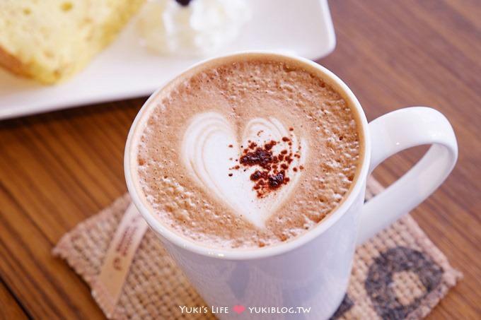 板橋下午茶┃Haaya's White哈亞咖啡 (板橋車站環球2F‧小茶栽堂&in Joy chocolate)
