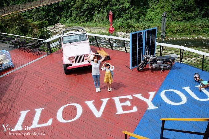 新竹景點【內灣愛情故事館】浪漫約會景觀餐廳、賞火車、拍婚紗場景~