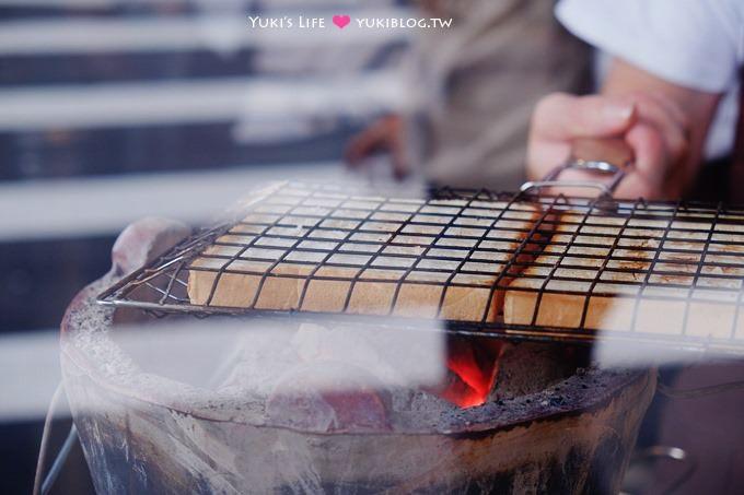 台北【上山採覓】厚切炭烤吐司新品牌(推醬辣肉蛋起司)、澳洲原裝鮮乳+炭火煎的紅茶@捷運中山國中站 - yukiblog.tw
