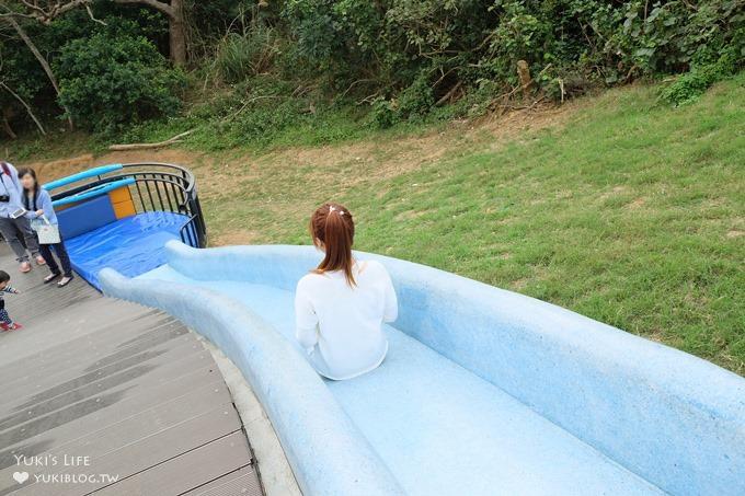 新竹免費親子景點【青青草原】超長彩色磨石子溜滑梯×踏青野餐好去處 - yukiblog.tw