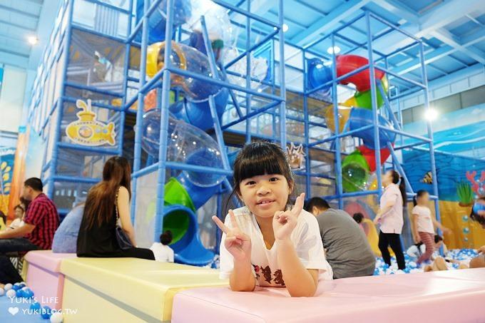 宜蘭新景點親子餐廳【非玩不可】室內200坪超大溜滑梯球池親子放電好去處×雨天景點×室內景點