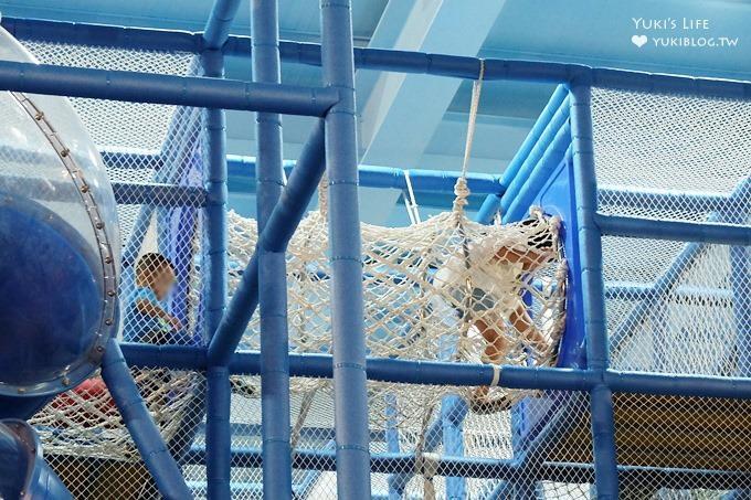 宜蘭新景點親子餐廳【非玩不可】室內200坪超大溜滑梯球池親子放電好去處×雨天景點×室內景點 - yukiblog.tw