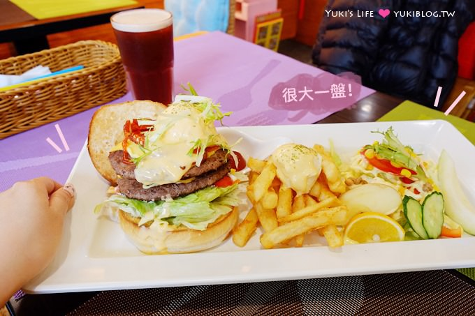 新莊美食【荷亞輕食館早午餐】(原-日初)真的大份量 @新莊站 - yukiblog.tw