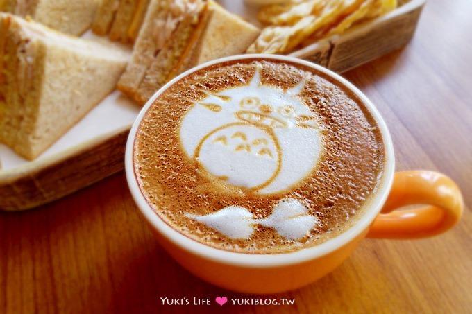 桃園美食【袋鼠咖啡GEMI Cafe】充滿驚喜的手作拉花.澳洲回國的繽紛小店❤