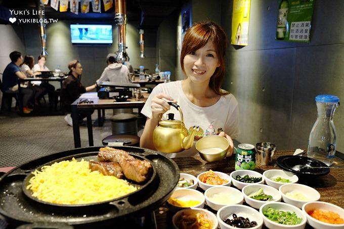 台北韓式烤肉【啾哇嘿喲】九色烤肉新品牌×厲害滿鍋三色起司10盎司牛助條@南京復興站美食