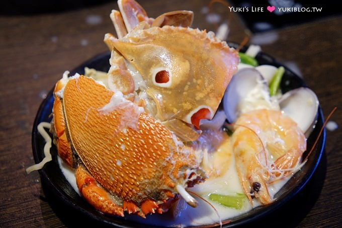 台北美食【八海精緻鍋物料理】豐富海鮮、超多食材火鍋麻辣鍋吃到飽 @西門町店 - yukiblog.tw