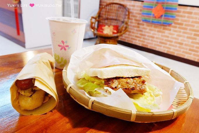 树林美食【碳厚囍】炭烤吐司重新开张店面二访~清晨就吃的到大肠包小肠~在地排队美食小吃推荐 - yukiblog.tw