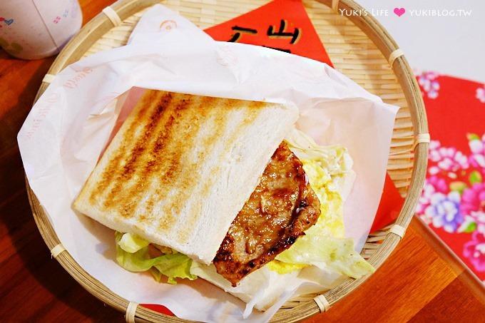 樹林美食【碳厚囍】炭烤吐司重新開張店面二訪~清晨就吃的到大腸包小腸~在地排隊美食小吃推薦 - yukiblog.tw