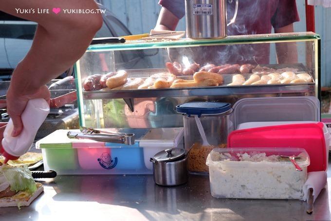 树林美食【碳厚囍】限定清晨下午茶碳烤吐司、大肠包小肠~在地排队美食满足大推荐!炭烤吐司 - yukiblog.tw