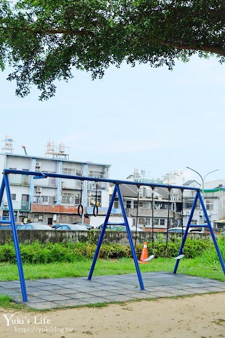 彰化景點【彰化市兒童公園】鯨魚造型3D彩繪戲水區、夏日免費玩水、IG美拍好去處! - yukiblog.tw