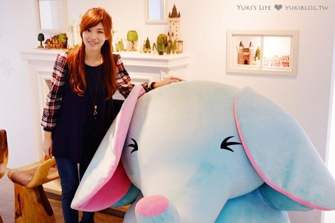 東區特色咖啡館【Uki Smile Coffee】療癒系水藍色大象的可愛地盤❤忠孝敦化站