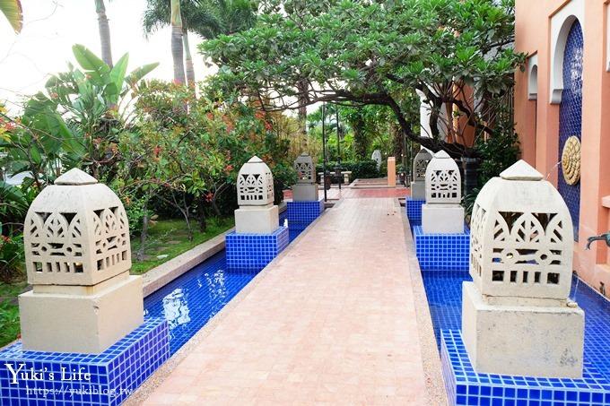 親子住宿推薦【亞曼達會館】我在墾丁巴里島Villa度假!奢華宮廷風飯店!有戲水池 - yukiblog.tw
