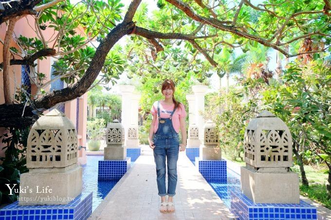 親子住宿推薦【亞曼達會館】我在墾丁巴里島Villa度假!奢華宮廷風飯店!有戲水池