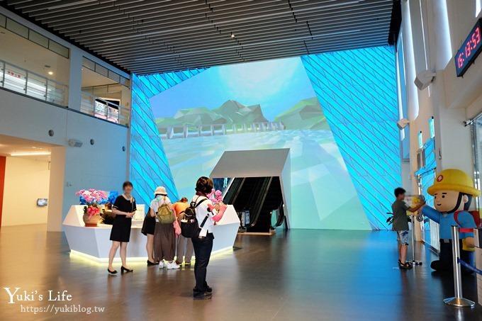 屏東景點【台電南部展示館】全新免費親子景點!兩層樓旅轉溜滑梯、超多互動設施、4D立體劇場、墾丁必訪室內景點~ - yukiblog.tw