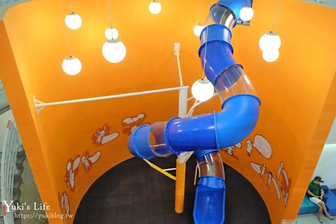 屏東景點【台電南部展示館】全新免費親子景點!兩層樓旅轉溜滑梯、超多互動設施、4D立體劇場、墾丁必訪室內景點~