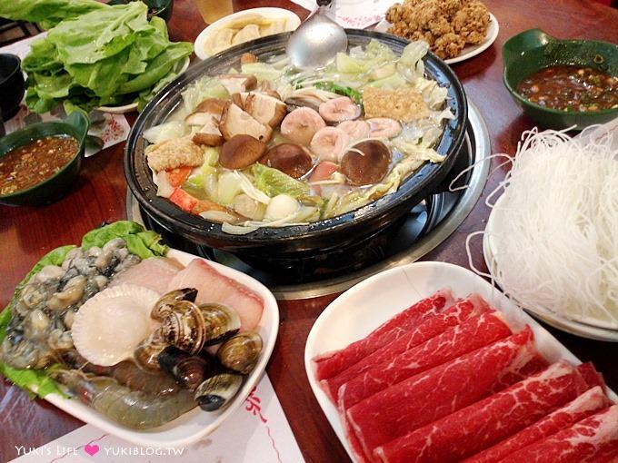 蘆洲美食【旺角石頭火鍋】最懷念的古早味~好香的沙茶 @長安店