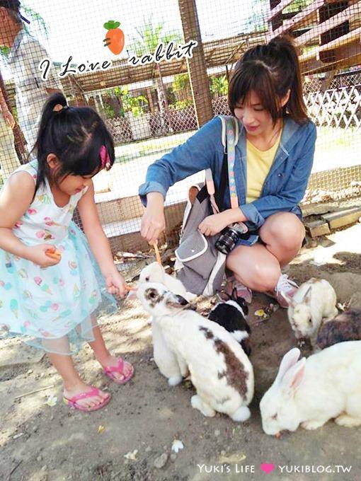 桃園中壢【甜客廳】市區景觀餐廳峇里島風格、可餵兔子、消費好高、有停車場