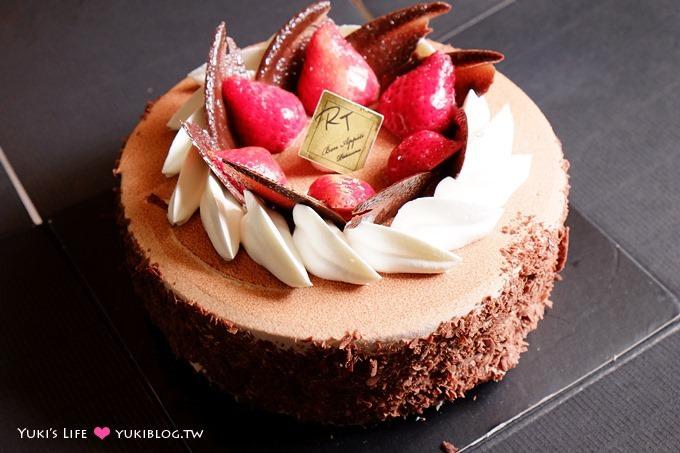 甜點【新竹RT蛋糕】【Amo阿默●瑞士古典醇黑巧克力】好吃! 我的生日蛋糕 - yukiblog.tw