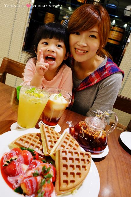 台北下午茶┃米朗琪咖啡館Melange Cafe‧傳說中的草莓鬆餅 @捷運中山站