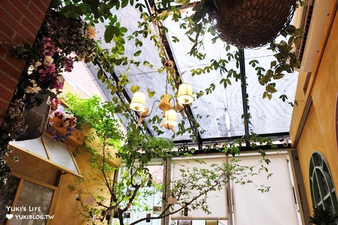 台北大稻埕【DG Cafe】迪化街歐香庭園風格約會早午餐咖啡廳×大橋頭站美食 - yukiblog.tw