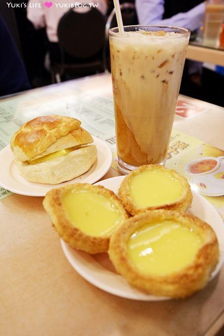 香港自由行【檀島咖啡餅店】百層酥皮蛋塔! 據說是全香港第一間茶餐廳@灣仔站