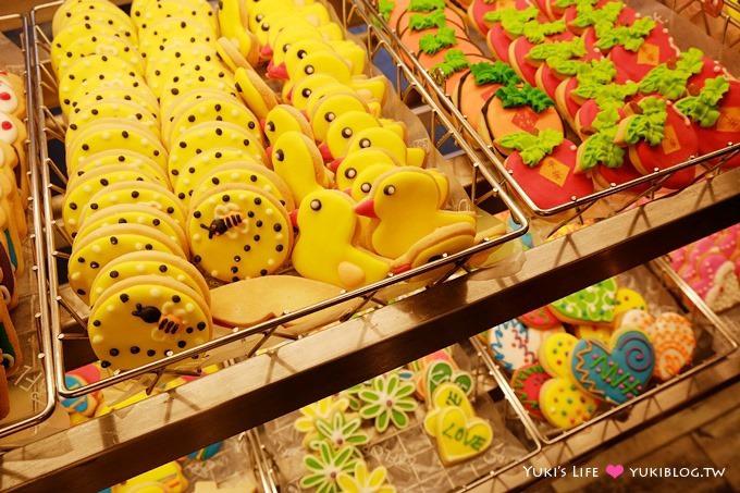 台北美食【福利麵包公司】奶油大蒜法國麵包&繽紛動物年節手工餅乾@民權西路站