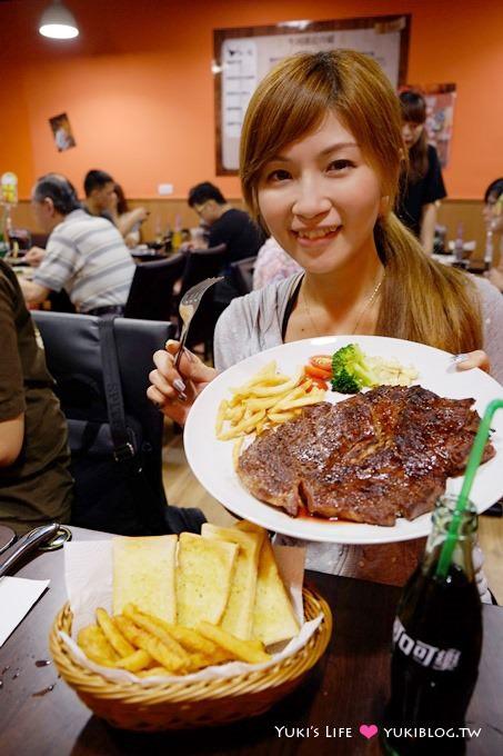 台北食記【黑傑克原味碳烤牛排】新莊棒球場美食「哇!21盎司嫩肩牛排 」@新莊站