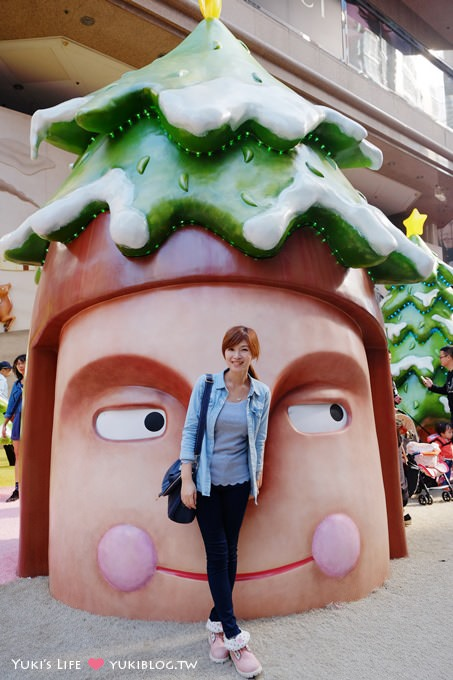 【2013香港聖誕節】繽紛冬日節@銅鑼灣‧時代廣場「趣怪森林」