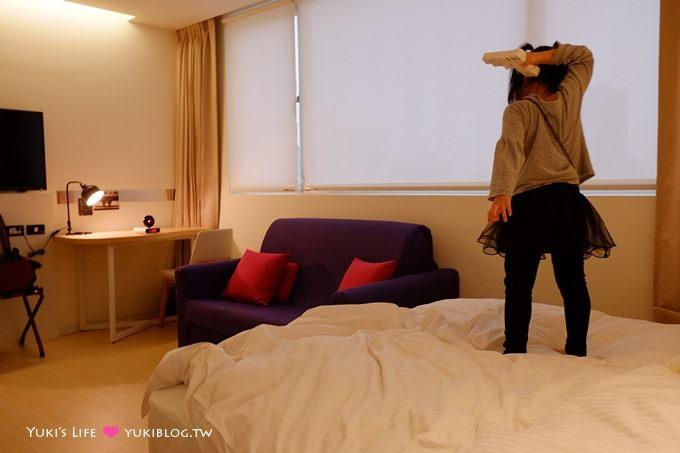 台中逢甲住宿推薦【福星旅店 Hotel Se7en 、7 Hotel】平價飯店、近逢甲夜市10分鐘、有停車場vs露天花園 - yukiblog.tw