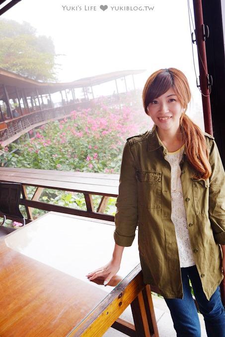 台南玉井虎頭山【綠色空間】view超棒的景觀餐廳.火鍋份量多又好吃