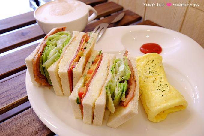 樹林美食【好日Good Day】早午餐輕食、三明治專賣 @樹林火車站