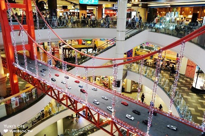 曼谷必逛【Terminal 21 Shopping Mall環遊世界百貨】Asak站平價美食×每層樓不同國家主題設計拍照景點!