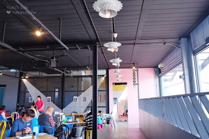 彰化親子下午茶景點【Pause Bonheur甜點實驗室】甜點遊樂園主題餐廳×沙坑遊戲室親子餐廳 - yukiblog.tw