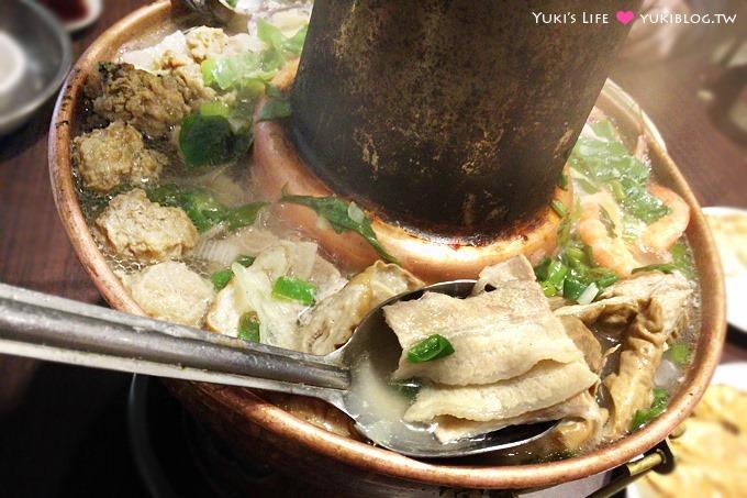 台北永康街美食【東門餃子館】酸菜白肉鍋酸到骨子裡、煎餃多汁 @東門站