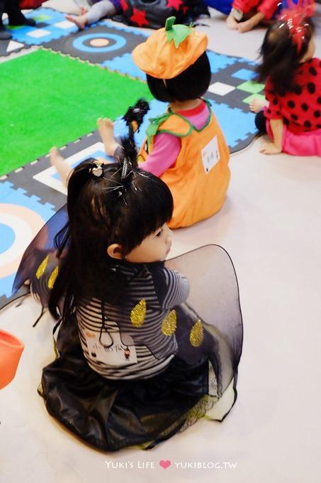 育兒去處┃台北‧Weplay親子館→萬聖節搗蛋活動 (小西瓜3Y5M+.小魔女裝扮) - yukiblog.tw