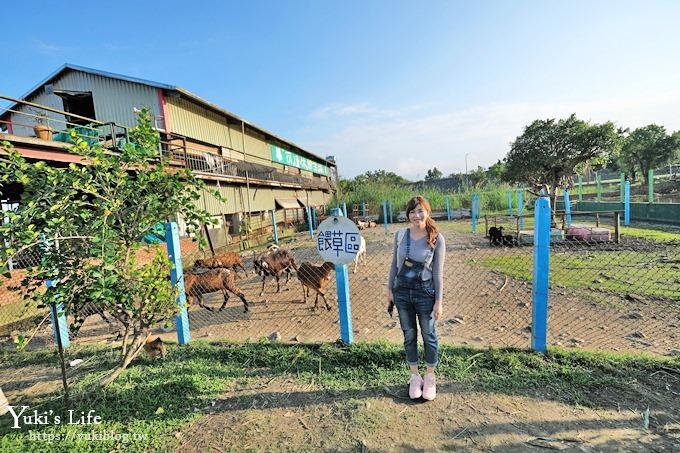宜蘭景點【可達休閒羊場】免門票×員山小型動物園親子農場~餵羊餵兔子