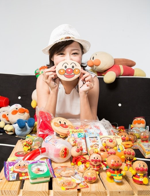 茵芙的麵包超人小物幾乎都是從日本買回,口罩是其中一樣「捨不得用」小物