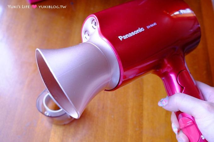 败家【Panasonic国际牌白金负离子奈米水离子吹风机EH-NA45】开箱文&使用心得~较快干省时好喜欢YA - yukiblog.tw