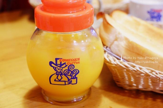 日本●名古屋┃KOMEDA's Coffee(コメダ珈琲)名古屋流早餐~吐司加紅豆泥 - yukiblog.tw