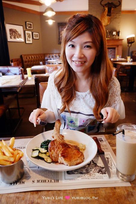 台北美食【肉舖廚房BUTCHER'S KITCHEN漢堡牛排】合格!@圓山站maji majiI集食行樂